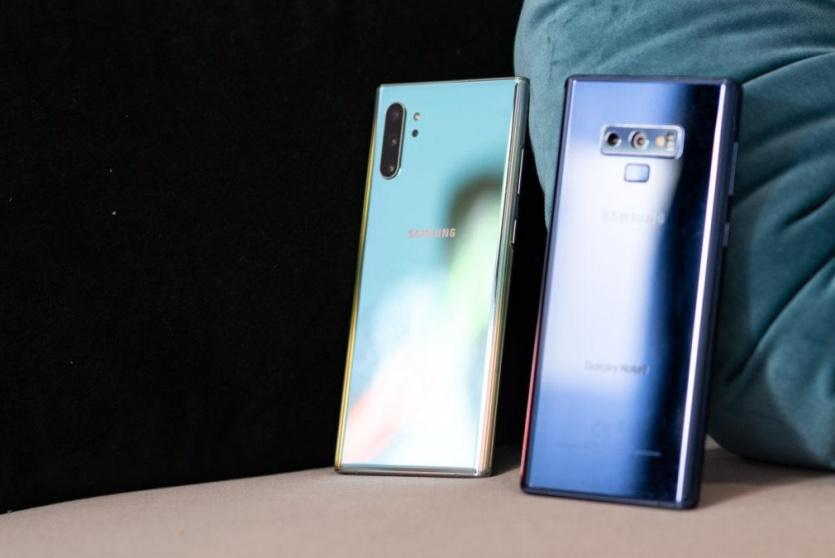 Note 10 وNote 9